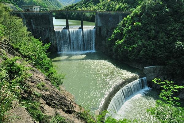 奉化大堰水坝
