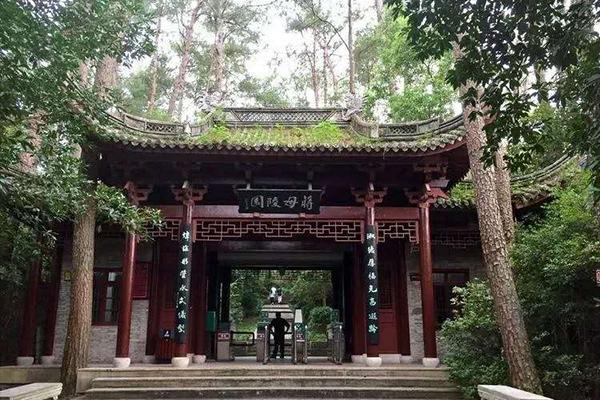 蒋母陵园景区